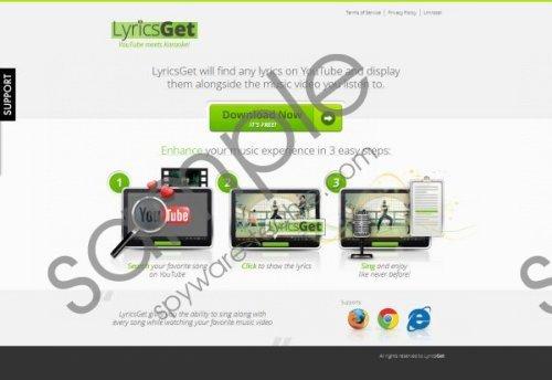 LyricsGet Removal Guide