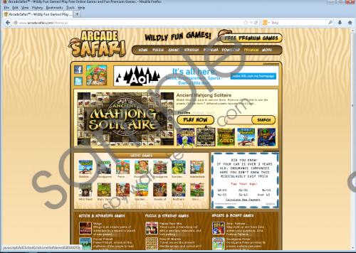 Arcade Safari Removal Guide