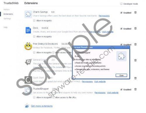 TrustedShopper Removal Guide