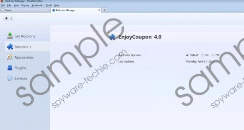 EnjoyCoupon Deals Removal Guide