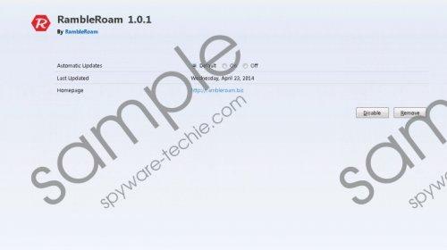 RambleRoam Removal Guide