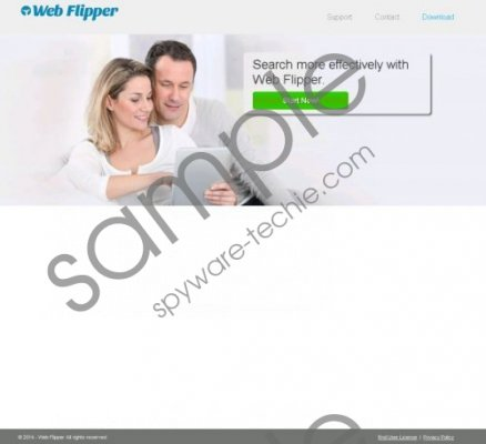 Web Flipper Removal Guide