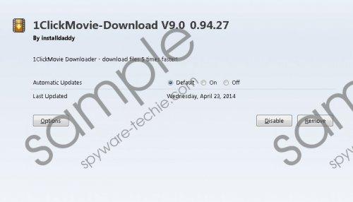 1ClickMovie Removal Guide