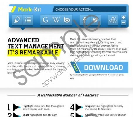 Ads by MarkKit Removal Guide