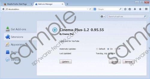 Cinema-Plus Removal Guide