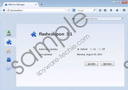 FlashCoupon Removal Guide