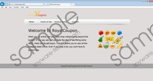 RoyalCoupon Removal Guide