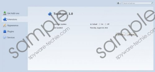 TopBuyer Removal Guide