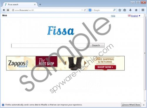 Fissa.com Removal Guide