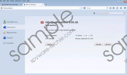 HD-QualPure Removal Guide