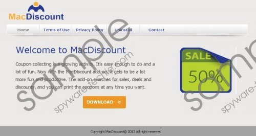 Macdiscount Deals Removal Guide