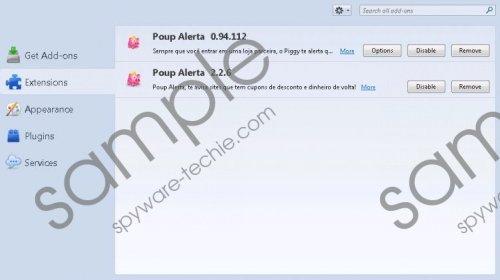 Poup Alerta Removal Guide