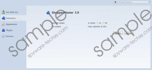 ShopperMaster Removal Guide