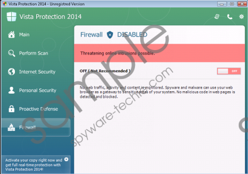 Vista Protection 2014 Removal Guide