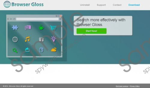 Browser Gloss Removal Guide