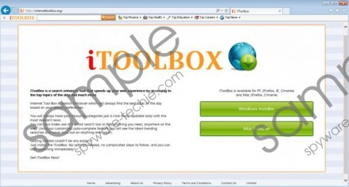 Search.internettoolbox.org Removal Guide