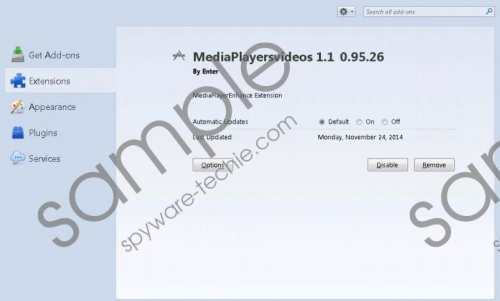 MediaPlayersVideos Removal Guide