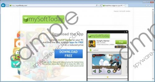 mySoftToday Removal Guide