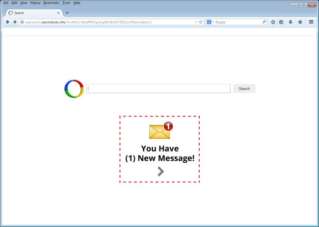 Websearch.Searchoholic.info Removal Guide