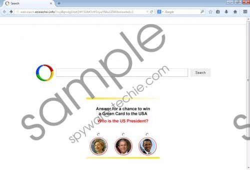 Websearch.ezsearches.info Removal Guide