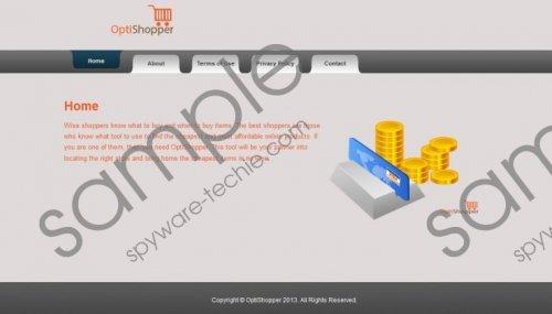 OptiShopper Removal Guide
