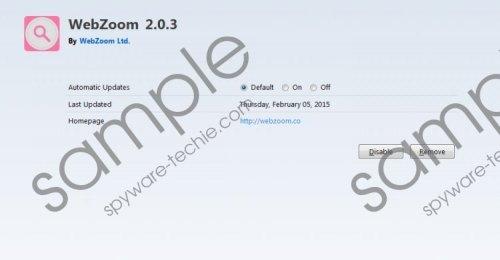 Webzoom Removal Guide