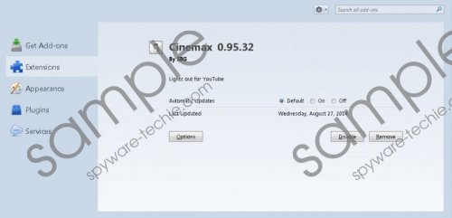 Cinemax Plus Removal Guide