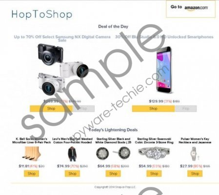 Hoptoshop Coupons Removal Guide