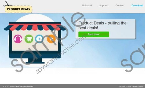 Product Deals Removal Giude