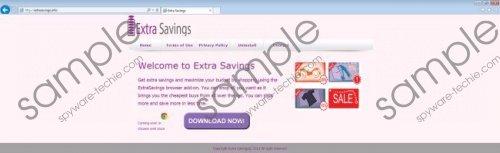ExstraSavings Removal Guide