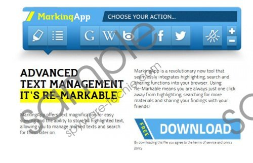 MarkingApp Removal Guide