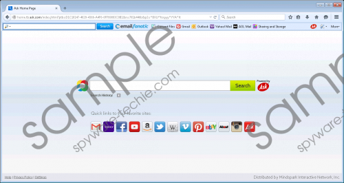 EmailFanatic Toolbar Removal Guide