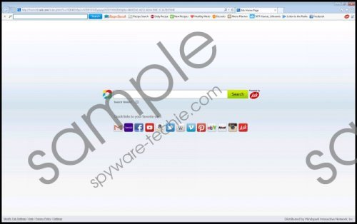 RecipeSearch Toolbar Removal Guide