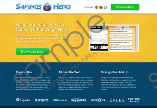 Savings Hero Removal Guide