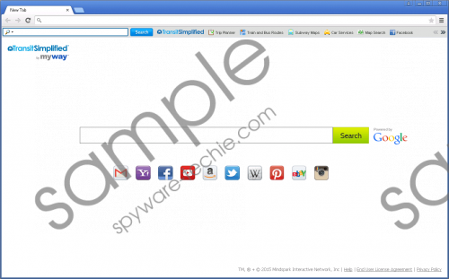 TransitSimplified Toolbar Removal Guide