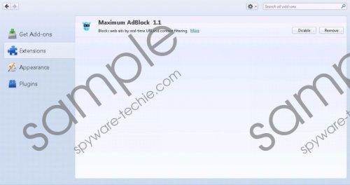 Max AdBlock Removal Guide