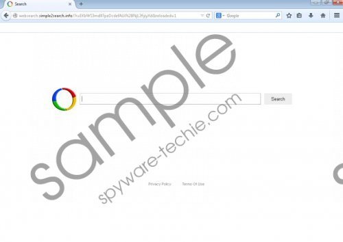 websearch.simple2search.info Removal Guide