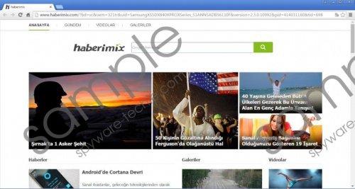 Haberimix.com Removal Guide