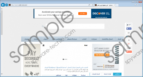 Search.arab-one.com Removal Guide