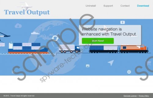 Travel Output Removal Guide