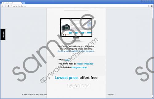 Best Online Deals Removal Guide