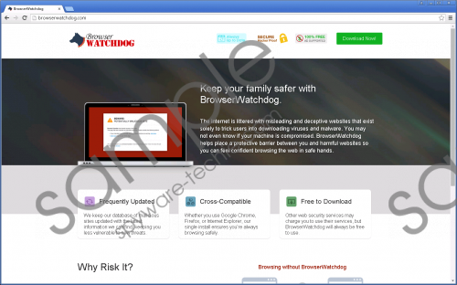 BrowserWatchdog Removal Guide