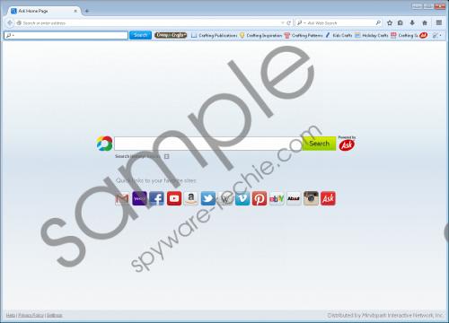 CrazyForCraft Toolbar Removal Guide