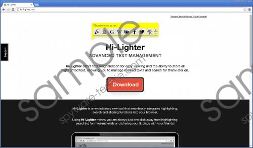 Hi-Lighter Removal Guide