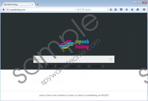 Mywebfinding.com Removal Guide