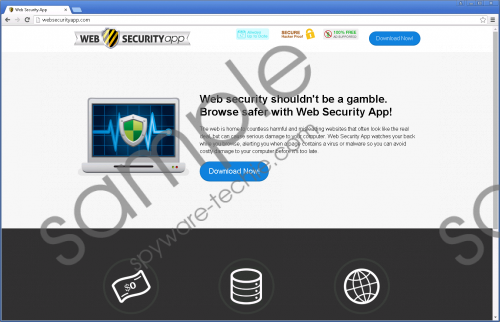 Web Security App Removal Guide