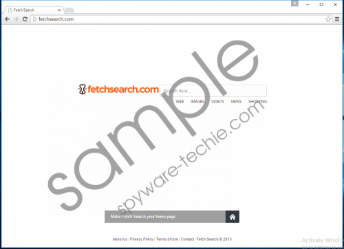 Fetchsearch.com Removal Guide