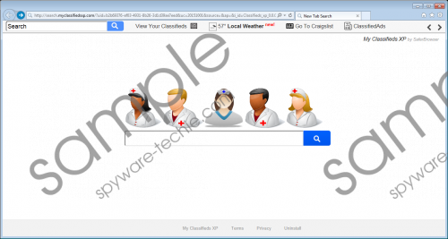 Search.myclassifiedsxp.com Removal Guide