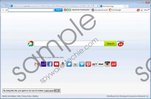 SmarterPassword Toolbar Removal Guide