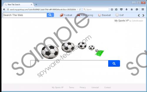 Search.mysportsxp.com Removal Guide